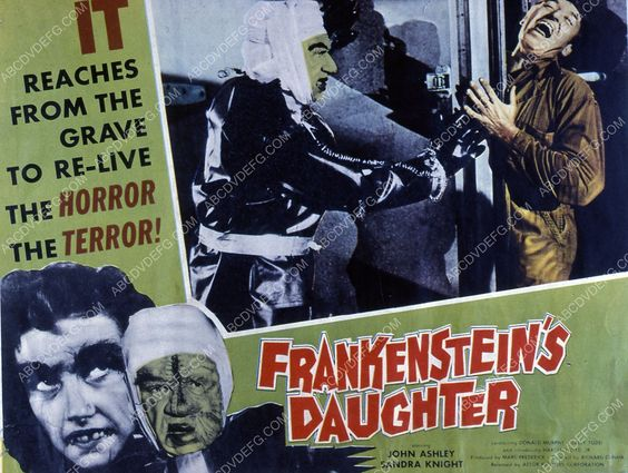 John Ashley film Frankenstein's Daughter 35m-1938