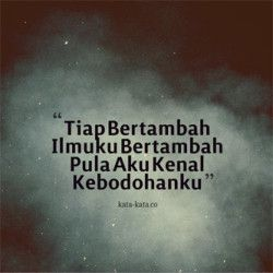 Kata Bijak Singkat Padat  Indonesian Quotes  Pinterest