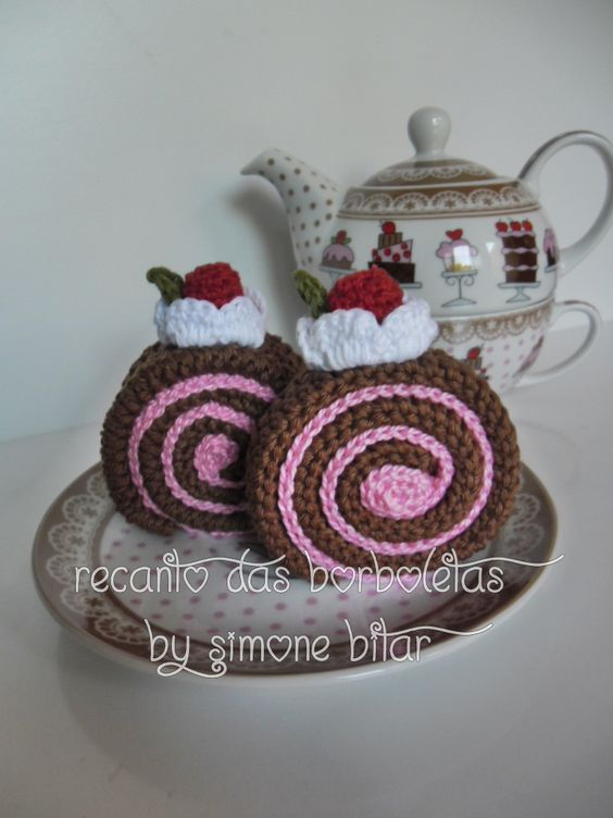 <3 Lançamento Recanto das Borboletas,  Rocambole Amigurumi  vem ver: http://recantodasborboletas-simoninha.blogspot.com/