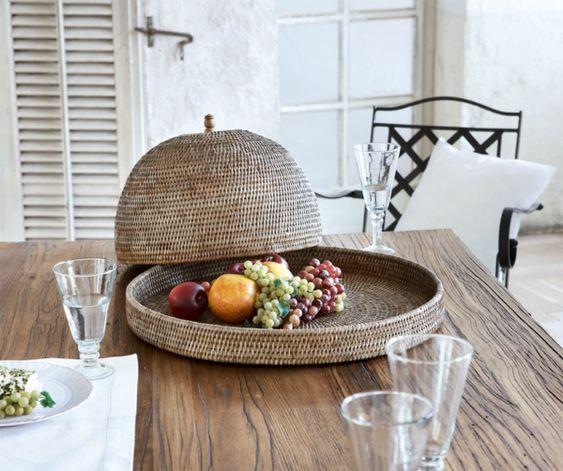 Mediterrane Wohnaccessoires Tischdeko Ideen Esszimmer gestalten - esszimmer gestalten ideen