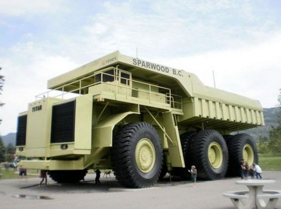 biggest truck trucks and world on pinterest. Black Bedroom Furniture Sets. Home Design Ideas