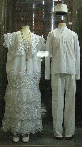 Huipil (Kub) para boda yucateca )