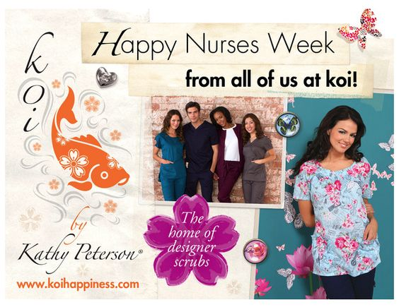 A very happy nurses week to all, from your friends at koi.  We love you!   :)
