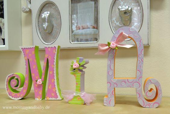 Schwangerschaft & Baby - Erinnerungen schaffen und schenken: Wie können denn Holzbuchstaben das Kinderzimmer schmücken?