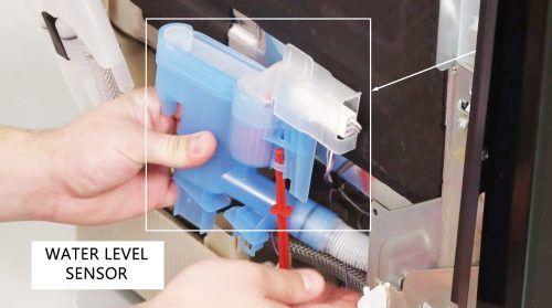 Water Level Sensor Pressure Switch Dishwashers Bosch Bosch Dishwashers Dishwasher White Dishwasher