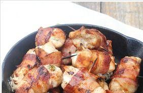 Bacon-wrapped Jalapeno bites