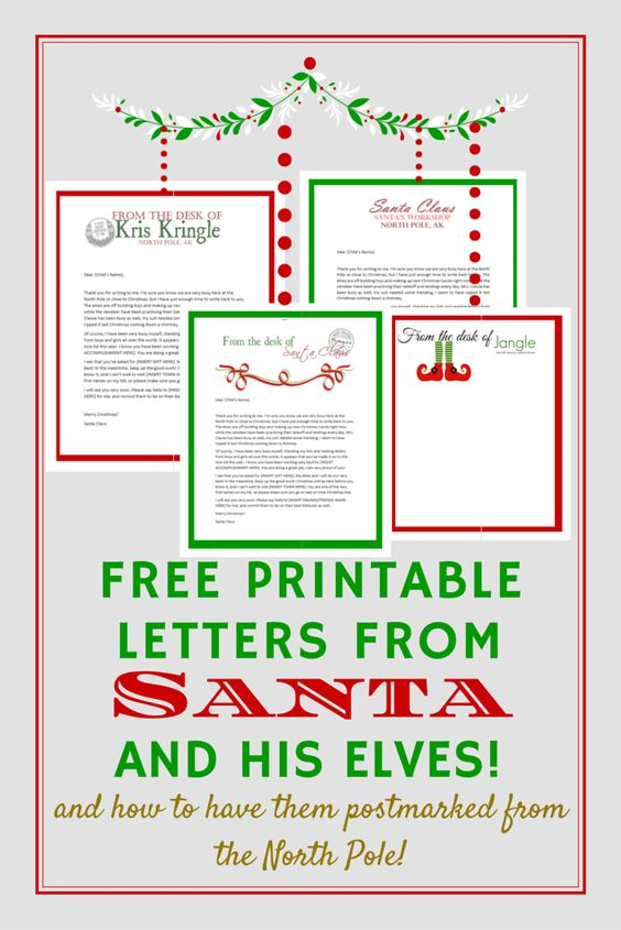 get a letter from santa the world s catalog of ideas 21942 | a2c66da9ed459314108fef3957ec0543