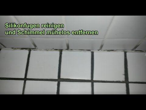 Silikonfugen reinigen – Schimmel von Silikonfuge entfernen ...