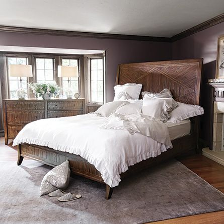 Rainier Queen Bed Arhaus At An Angle H O M E