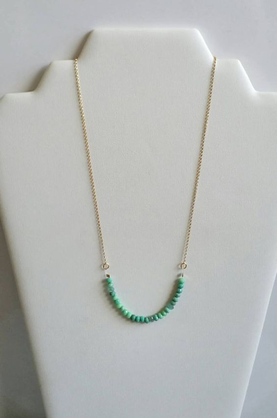 Check out this item in my Etsy shop https://www.etsy.com/listing/263106855/chrysoprase-necklace-with-14k-gold