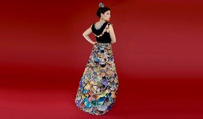 Junk mail dress