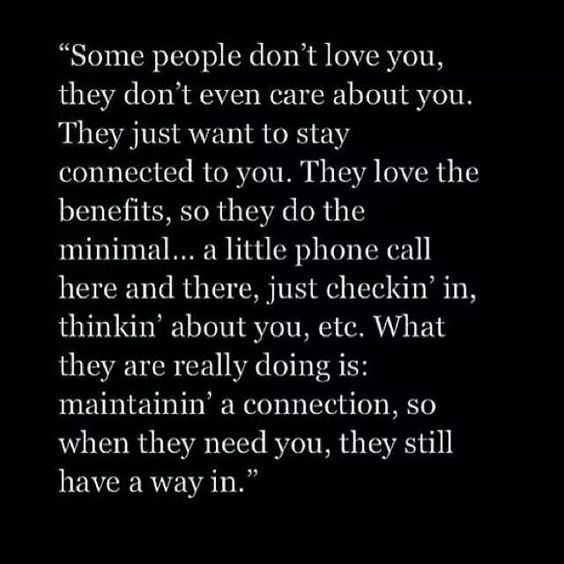 """Relationship Quotes Just Friends: """"Some People Don't Love You, They Don't Even Care About"""