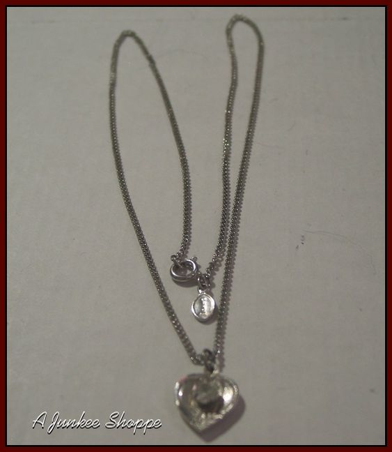Theda Sterling Silver Pendant With Rhinestone And Avon Chain Jewelry   Theda Sterling Silver Pendant With Rhinestone And Avon Chain Jewelry   http://ajunkeeshoppe.blogspot.com/