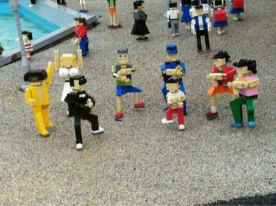 Oppan #LEGO style!