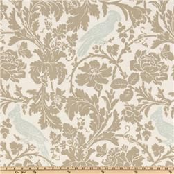 Premier Prints Barber Taupe/Robin  Item Number: UE-669  Our Price: $7.48 per Yard      This fabric is screen printed on cotton and very versatile. Perfect for window accents (draperies, valances, curtains and swags), toss pillows, bed skirts, duvet covers, slipcovers and more! Colors include robin's egg blue, taupe and white.