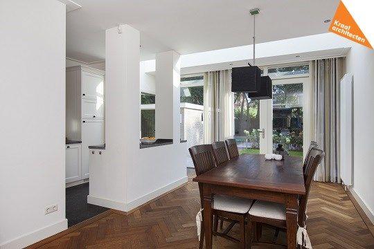 Uitbouw Keuken Jaren 30 : Kraal architecten – Uitbouw jaren 30 woning Zeist – 07. Ruimtelijk en