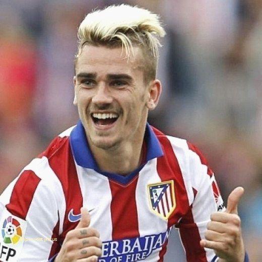20 Fresh Footballer Hairstyles Gallery Griezmann Blond Short