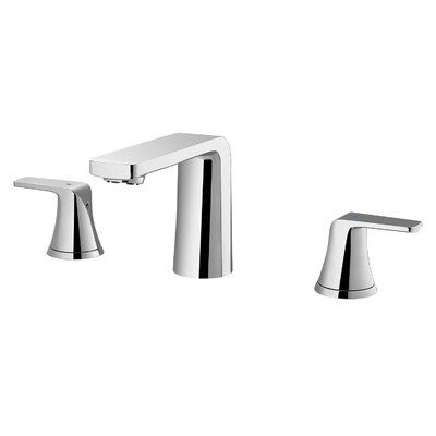 Dax Two Handle Widespread Bathroom Faucet Finish Brushed Nickel Bathroom Faucets