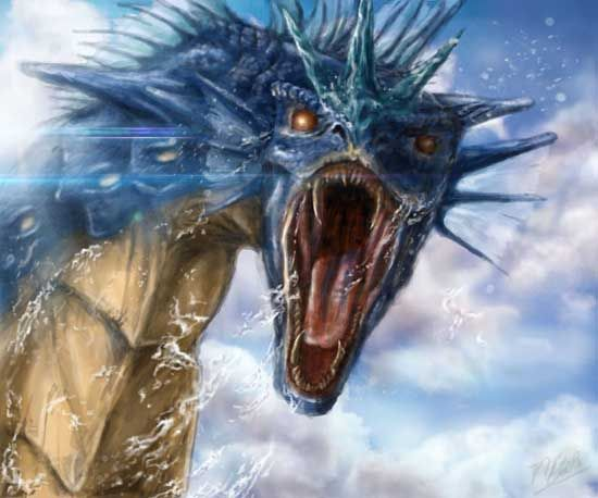 25 realistic Pokemon - this Gyrados is my favorite, but they're all awesome!
