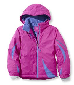 #LLBean: Girls' Snowfield Waterproof Parka