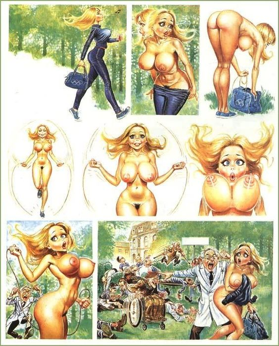 Dicks erotic cartoons strips and ribald cartoons strips wish was Mr