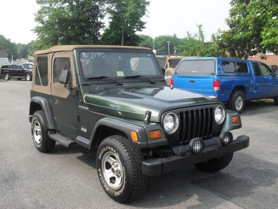 1997 Jeep Wrangler. My first Jeep (and the first of many more to follow) was a bit of an eye opener for me. Makes just about anything else look stupid when it comes to off-roading... Everything but your average Isuzu that is!...