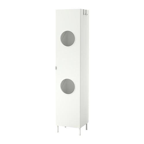 Lillangen Armario Para Colada Blanco 40x38x189 Cm Ikea Bad