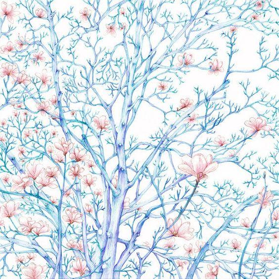 青空に白木蓮 2012