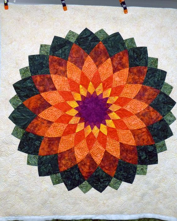 Giant Dahlia Quilt Images : Pinterest The world s catalog of ideas