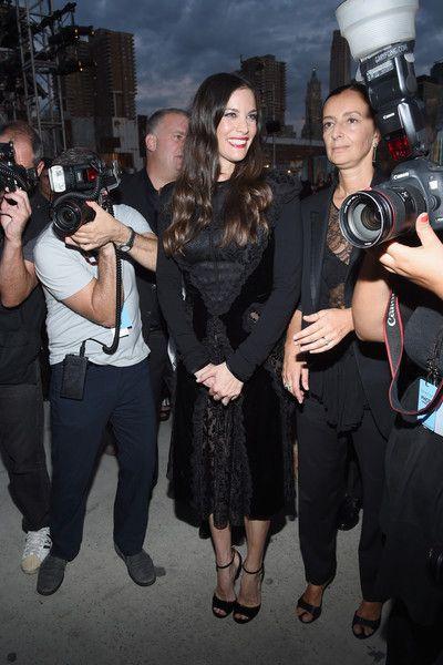 Liv Tyler Little Black Dress - Fashion Lookbook - StyleBistro