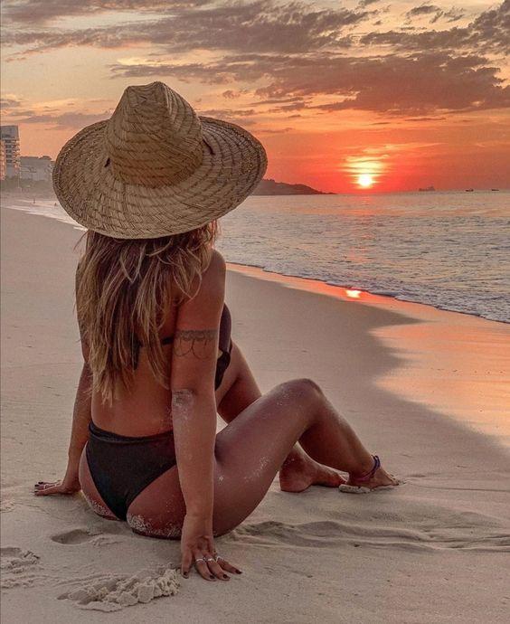 Fotos Tumblr na Praia sol