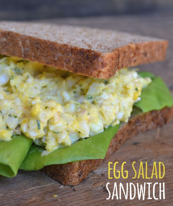 Egg Salad Sandwich - This egg salad sandwich is filling and delicious ...