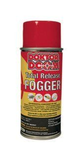 Doktor Doom Total Release Fogger, 3oz. by Doktor Doom. $10.84. Can be used with all ornamental plants, flowers, fruits and vegetables. No phyto-toxicity to plants. No residuals. Safe to use before harvest. A total release fogger for use in homeowner greenhouses, storage areas etc.. pH balanced formula without any perfumes or attars. Total Release Foggers are for use in greenhouses, fruit and vegetable storage areas and indoor gardening areas. Used for controlling fungus...