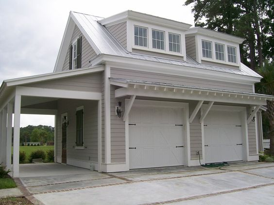 G0039 Is A 3 Car Garage With Bonus Space Above The
