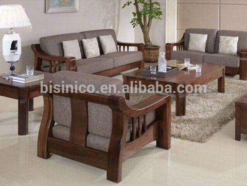 Source North American Black Walnut Wood Sofa Set High End Solid Wood Comfortable Fabric Sofa Set Bf In 2020 Wooden Sofa Designs Wooden Sofa Set Designs Wooden Sofa Set