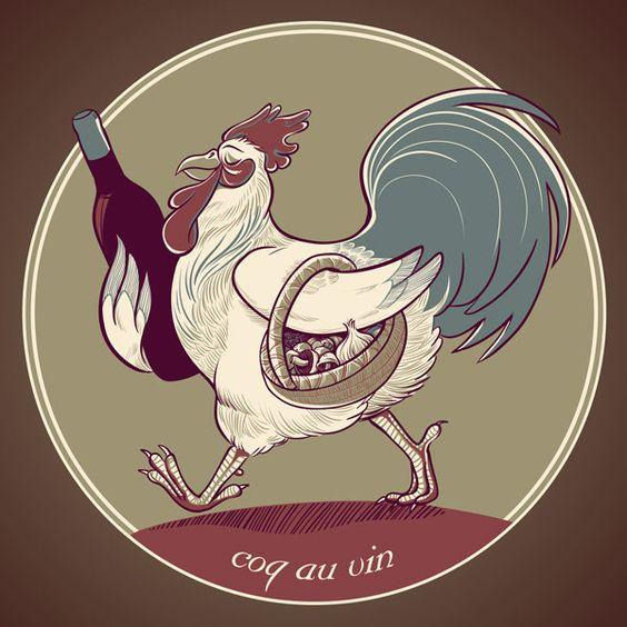 Coq Au Vin by Kari Fry.