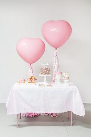 Efhamar Sienna Pink Polka Dots ハーフバースディ バースデー 誕生日