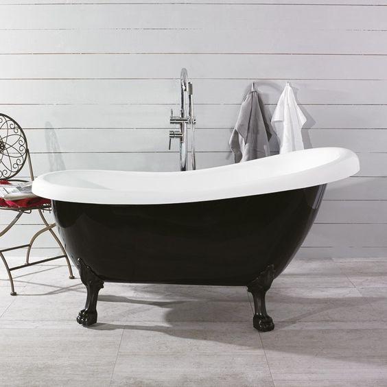 Badkar hafa massagebadkar : Bildresultat för måla utsidan av badkar svart   Nytt badrum ...