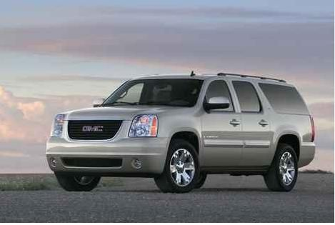 GMC Yukon...will seat all 9 of us and dnt look like a church van...lol