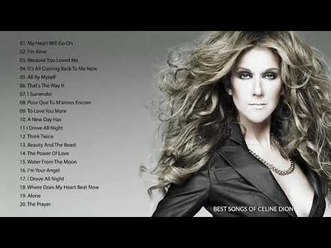 Celine Dion Best Songs Of Celine Dion The Best Of World Divas Youtube Celine Dion Greatest Hits Celine Dion Albums Celine Dion