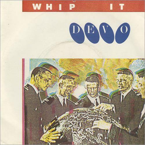 Devo – Whip It (single cover art)