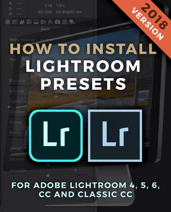 How to install lightroom presets mac