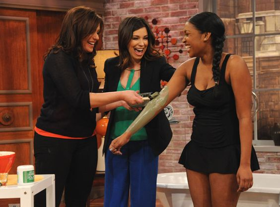 at-home body wrap tips! Rachael Ray