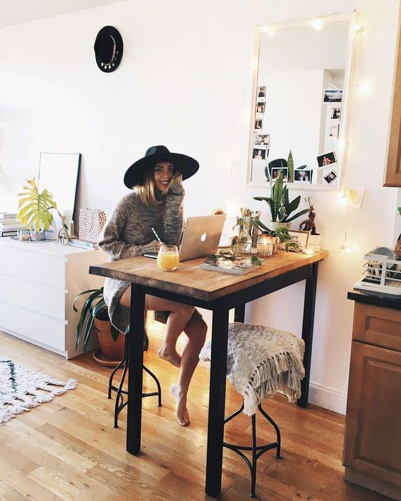 Best 25+ Tall Kitchen Table Ideas On Pinterest | Tall Table, Small Kitchen  Tables And Tall Desk