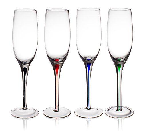 4 Jg Durand Luminarc Pink Stem Champagne Glasses Vintage Pink Stemmed Champagne Flutes Made In France Champagne Glasses Luminarc Champagne Flutes