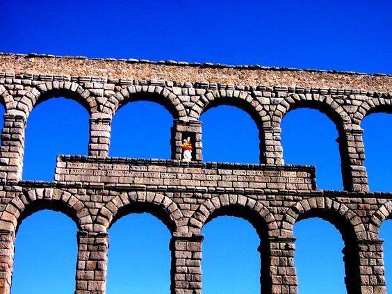Acueducto Romano, Segovia, Spain