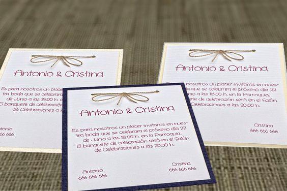 Invitación de boda lujosa Luxury LU-04