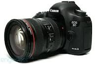 Canon EOS 5D Mark III 22.3 MP Full Frame CMOS with 1080p Full-HD Video - yes please :)