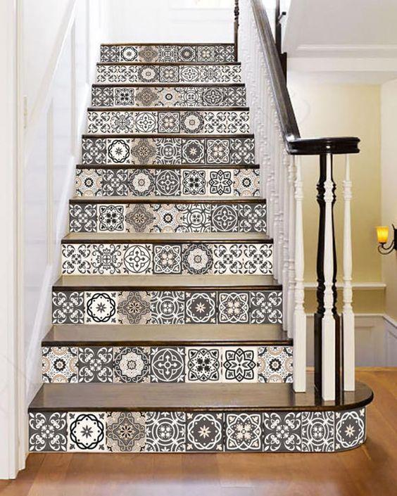 nuevo Set de 24 azulejos etiquetas azulejos adhesivos azulejos