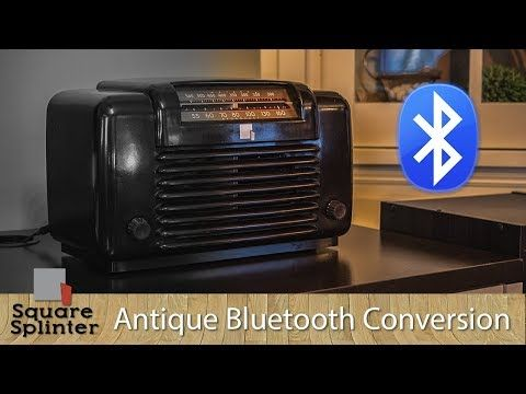 111 Easy Way To Convert Antique Vintage Radio To Bluetooth With New Speakers Under 40 Total Youtube Vintage Radio Radio Old Radios